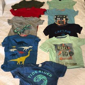 2t boys summer bundle. 53 pieces